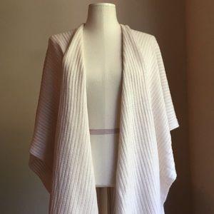 🆕 LOFT Fringe Sweater Wrap